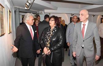وزيرة الثقافة تفتتح الدورة الـ40 من المعرض العام بمتحف الفن المصري الحديث | صور