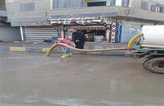 المنوفية تتعرض لموجة من الطقس السيئ | صور