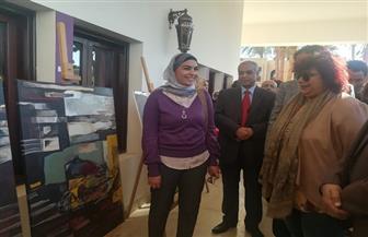 وزيرة الثقافة تتفقد ملتقى الأقصر الدولي للتصوير | صور