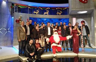 مقدمو برامج النهار في بث موحد ليلة رأس السنة بحضور هاني شاكر  وسعد الصغير | صور