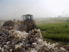 إزالة 394 حالة تعد على الأراضى الزراعية فى حملات مكبرة بسوهاج