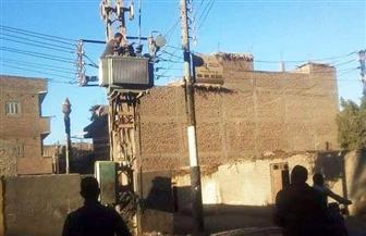محول كهربائي بقرية المدمر في سوهاج بتكلفة 90 ألف جنيه | صور