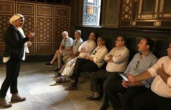 الجيزة تنظم برنامجا سياحيا لسفير دولة أوروجواي ومحافظ فلوريدا   صور