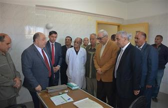 افتتاح عيادة الشين للتأمين الصحي بمركز قطور | صور