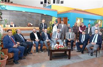 رئيس جامعة المنصورة يفتتح توسعات جديدة بمستشفى الطوارئ | صور