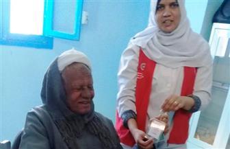 """وفد """"الصحة"""" يتفقد مركز تحيا مصر لعلاج فيروس سي بالمجان بالأقصر"""