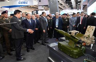 """تفاصيل جولة الرئيس السيسي فى """"إيديكس 2018"""".. ووزير الدفاع: من يمتلك مفاتيح القوة قادر على صنع السلام"""
