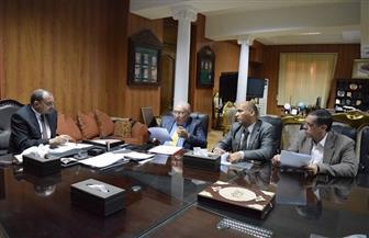 رئيس جامعة بني سويف: تحسين الخدمات بمركز المؤتمرات واستراحة أعضاء هيئة التدريس | صور