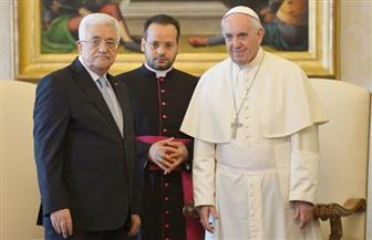 البابا فرنسيس يستقبل الرئيس الفلسطيني في الفاتيكان