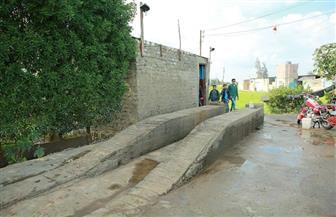تنفيذ قرار محافظ كفرالشيخ بإزالة مغسلة سيارات بمطوبس تهدر مياه الشرب   صور