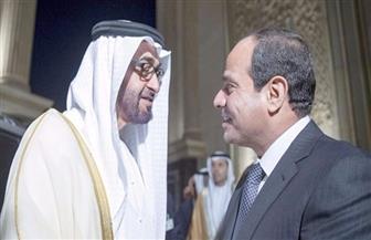 الرئيس السيسي يتصل هاتفيا بولي عهد أبوظبي ويهنئه بالعيد الوطني للإمارات