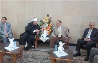 انطلاق فعاليات اليوم العالمي للغة العربية في جامعة أسيوط بحضور وزير الأوقاف |صور