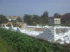 محافظ بني سويف: إزالة 97 حالة تعدٍ على الأراضي الزراعية  خلال يومين | صور