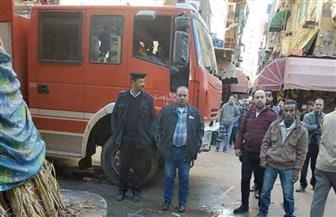 بسبب الطقس السيئ.. مصرع شخصين في انهيار عقار بالإسكندرية | صور