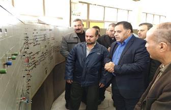 """رئيس السكة الحديد يتفقد مشروعات تطوير وكهربة الإشارات على خط """"القاهرة الإسكندرية""""   صور"""