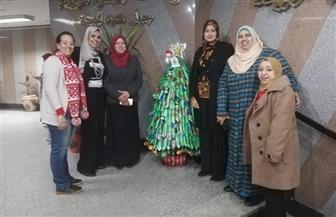 شجرة كريسماس صديقة للبيئة صناعة مصرية | صور