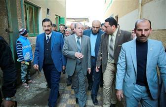 """محافظ كفرالشيخ يتفقد حملة """"100 مليون صحة"""" بمركز طب الأسرة بمنشأة عباس   صور"""