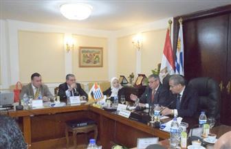 وزير التموين يلتقي وفد أوروجواي لبحث التبادل التجاري