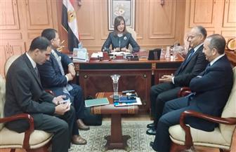 وزيرة الهجرة: مصر تسعى لأن تصبح رائدة في مجال الملاحة البحرية العالمية  صور