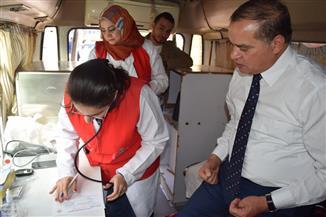 """رئيس جامعة سوهاج يشارك في حملة """"100 مليون صحة""""  صور"""