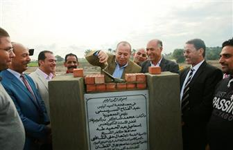 """محافظ كفرالشيخ يضع حجر أساس لوحة توزيع كهرباء """"أبو خشبة"""" بتكلفة 45 مليون جنيه  صور"""
