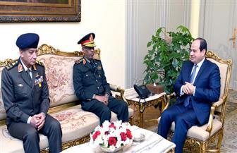الرئيس السيسي يلتقي وزير الدفاع السوداني ويشيد بالعلاقات المصرية السودانية