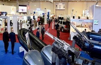 وفد من محافظة المنيا يزور معرض السلاح الدولي الأول إيديكس 2018