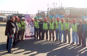 """""""بوتاجاسكو"""" تشارك في فعاليات أسبوع السلامة والصحة المهنية"""