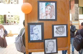 جامعة سوهاج تنظم المعرض الفنى لطلاب الطب البشرى| صور
