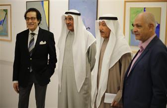 افتتاح معرض الفنان فاروق حسني في منصة الفن المعاصر بالكويت | صور