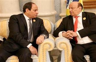 الرئيس السيسي يجري اتصالا هاتفيا بنظيره اليمني ويطمئن على صحته