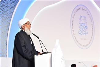 """الشيخ أبو بكر أحمد: """"حلف الفضول"""" يفتح آفاقا جديدة في إيجاد الحلول عن كثير من قضايانا المعاصرة"""