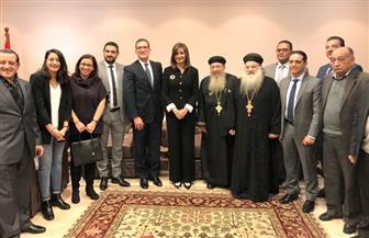 وزيرة الهجرة تلتقي الجالية المصرية في الأردن | صور