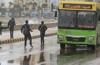 أمطار وطقس سيئ بسواحل الإسكندرية.. وتوقف الملاحة لليوم الرابع | صور
