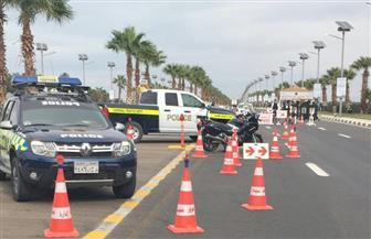 سيارات دفع رباعي وإغاثة مرورية لتأمين منتدى إفريقيا 2018 بجنوب سيناء | صور
