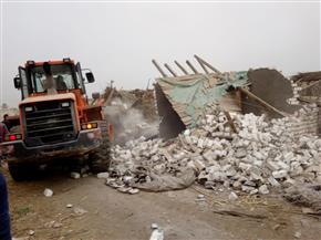 منذ انطلاق الحملة.. إزالة 1404 حالات تعد على مساحة 62 فدانا في بني سويف | صور