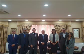 وزيرة الهجرة تلتقي وزير العمل الأردني لبحث أوضاع العمالة المصرية | صور