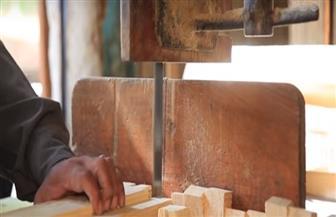 تدريب الشباب على نجارة «الباب والشباك» من خلال مبادرة «بداية جديدة» في أسيوط