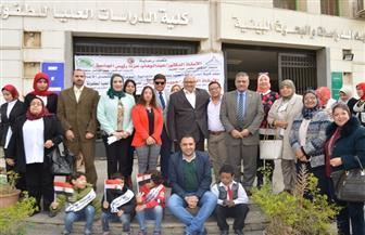 جامعة عين شمس تحتفل باليوم العالمي لمتحدى الإعاقة |صور