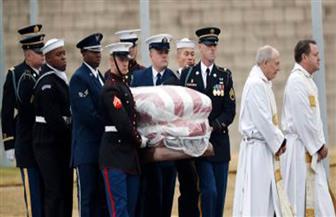 """نقل نعش """"بوش الأب"""" إلى تكساس استعدادا لدفنه"""