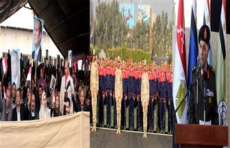 تفاصيل استقبال الكلية الحربية  للطلبة المستجدين بالدفعة ١١٥ للكليات والمعاهد العسكرية