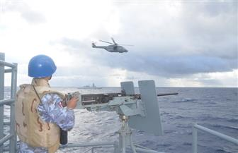 البحرية المصرية تشارك في مناورات مع القوات البريطانية والإيطالية بالبحر المتوسط