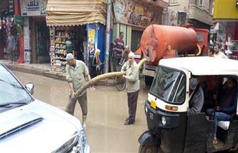 استمرار سقوط الأمطار على مراكز ومدن محافظة الغربية لليوم الثالث