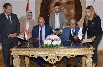 بروتوكول تعاون بين نادي القضاة وجامعة مصر للعلوم والتكنولوجيا
