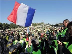 """اعتقال 278 شخصا في باريس قبيل انطلاق تظاهرات حركة """"السترات الصفراء"""""""