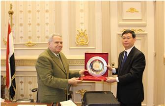 تعاون قضائي بين مصر والصين