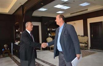 محافظ البحر الأحمر يستقبل رئيس الاتحاد المصري للتايكوندو بالغردقة| صور