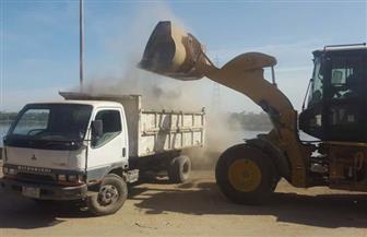رفع 413 طن مخلفات بمدن قوص والوقف بقنا| صور