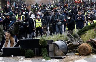 أعمال عنف خلال اشتباكات بين الشرطة الفرنسية ومتظاهرين | صور