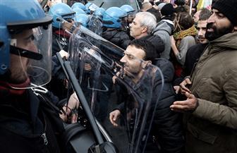 عشرات الآلاف يتظاهرون في إيطاليا رفضا لمشروع قطار يربط مدينة تورينو بفرنسا
